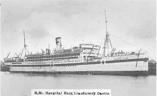 The Hospital Ship HMHS Llandovery Castle